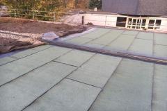 Sanierung von einem  alten Kiespressdach